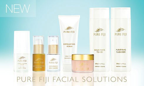 We use Pure Fiji facial products for all facials